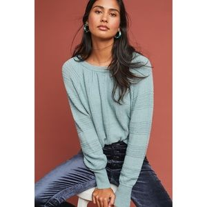 Anthropologie Meadow Rue Boucle Pullover Sweater